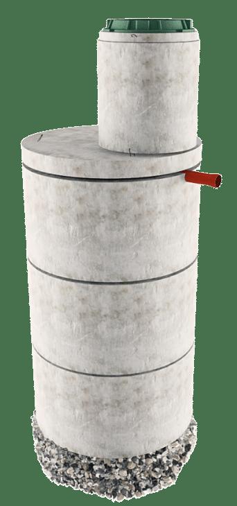 Септик из бетонных колец в Наро-Фоминске