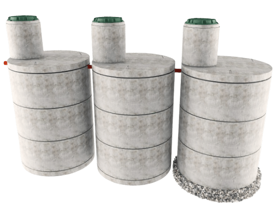 Трехкамерная конструкция септика в Наро-Фоминске